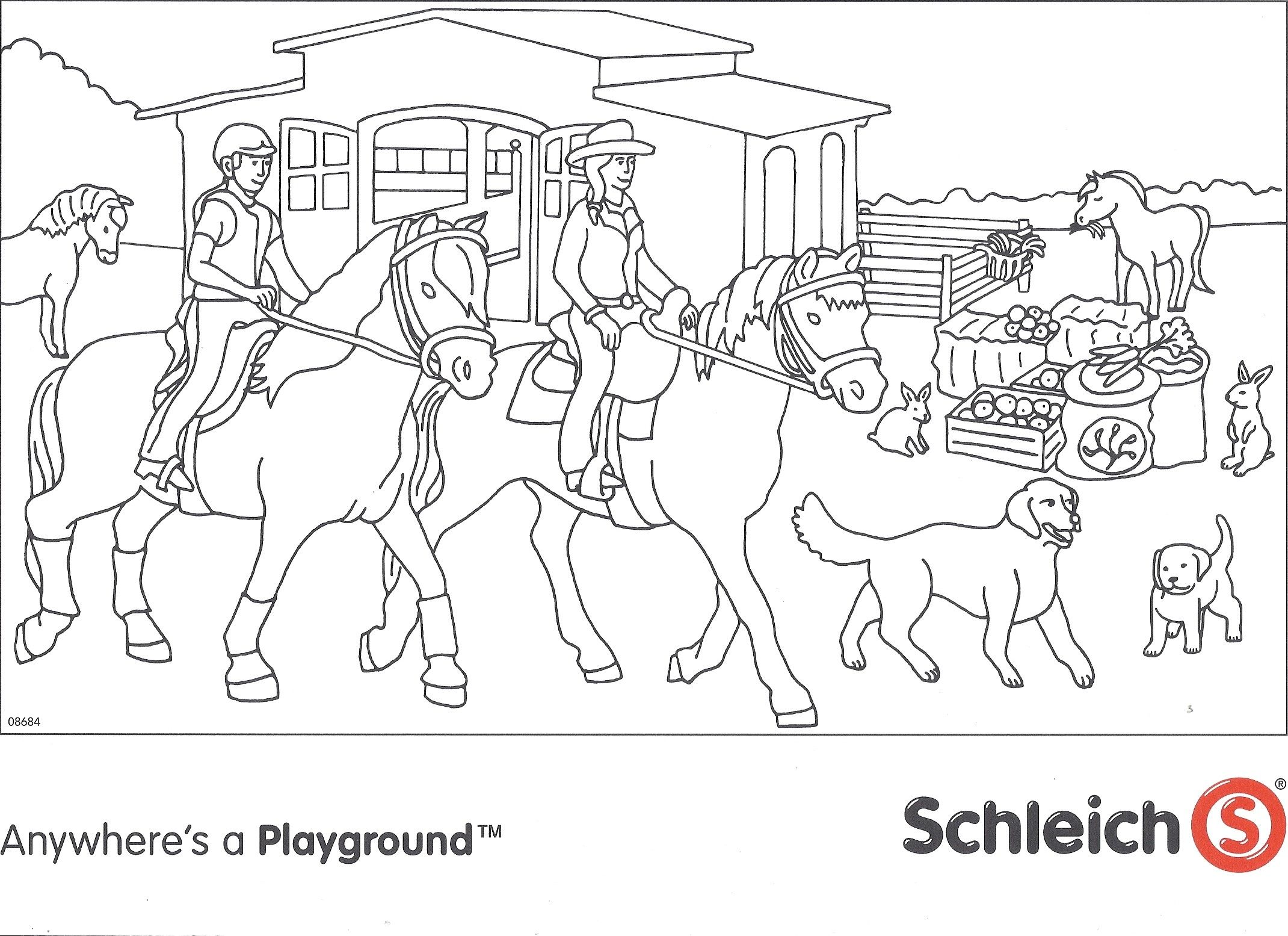 Schleich Colouring Contest MiniZoo